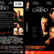 CASINO (1998) R1 DVD COVER & LABEL