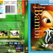 BAMBI (1942) DIAMOND EDITION BLU-RAY COVER & LABEL