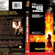 BLESS THE CHILD (2000) R1 DVD COVER & LABEL