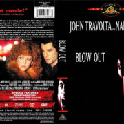 BLOW OUT (1981) R1 DVD COVER & LABEL