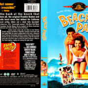 BEACH PARTY (1964) R1 DVD COVER & LABEL