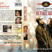 AT FIRST SIGHT (1998) R1 DVD COVER & LABEL