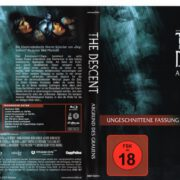 The Descent (2005) R2 German Blu-Ray Cover