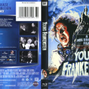 Young Frankenstein (1974) R1 Blu-Ray Cover & Label