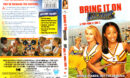 BRING IT ON AGAIN (2003) R1 DVD COVERS & LABEL