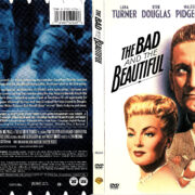 THE BAD AND THE BEAUTIFUL (1952) R1 DVD COVER & LABEL