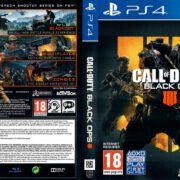 Call Of Duty Black Ops 4 PS4 COVER