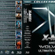 X-Men and the Wolverine Ultimate Collection R1 Custom Blu-Ray Cover