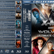 X-Men and the Wolverine Ultimate Collection V3 R1 Custom Blu-Ray Cover