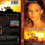 ANNA AND THE KING (1999) R1 DVD COVER & LABEL