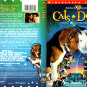 CATS & DOGS (2001) R1 DVD COVER & LABEL