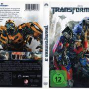 Transformers 3 (2011) R2 German DVD Cover