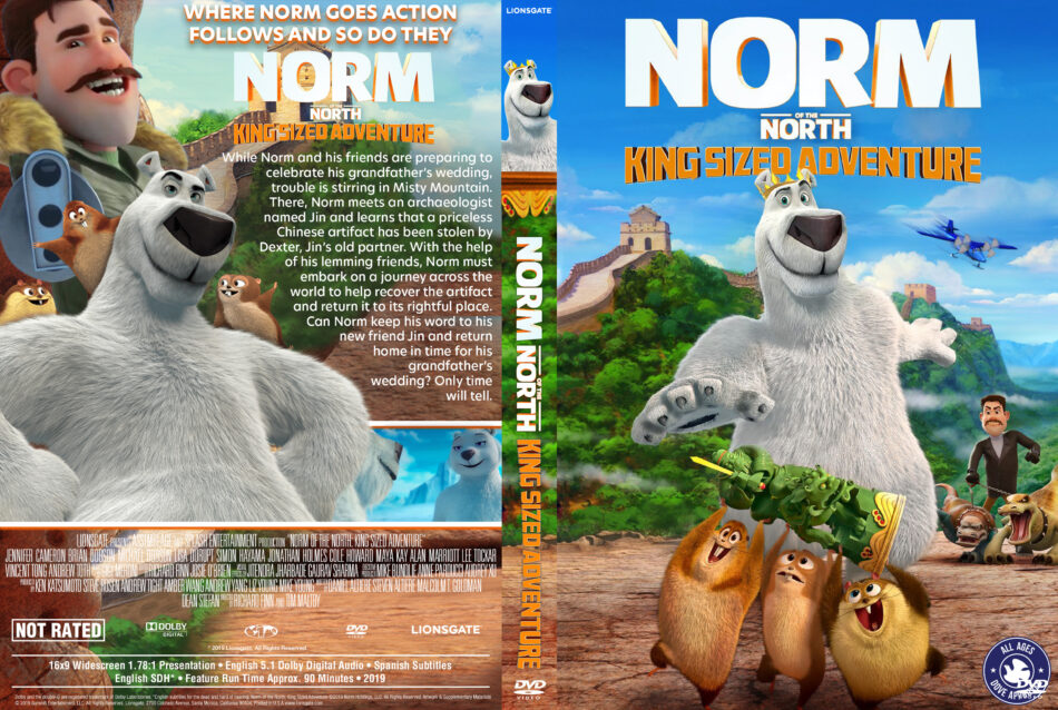 Norm of the North: King Sized Adventure (2019) R1 Custom ...