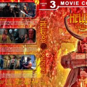Hellboy Collection R1 Custom Blu-Ray cover