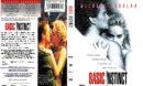 BASIC INSTINCT (1992) R1 DVD COVER & LABEL
