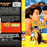 BIKINI BEACH (1964) R1 DVD COVER & LABEL
