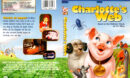 CHARLOTTE'S WEB (1973) R1 DVD COVER & LABEL