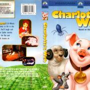 CHARLOTTE'S WEB (1973) R1 DVD COVER & LABEL