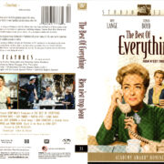 THE BEST OF EVERYTHING (1959) R1 DVD COVER & LABEL