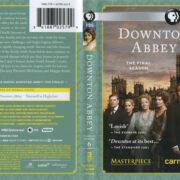 Downton Abbey: Season 6 (2016) R1 Blu-Ray Cover & Labels