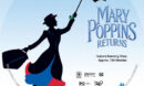 Mary Poppins Returns (2019) R1 Custom Label