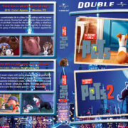 The Secret Life of Pets Double Feature R1 Custom Blu-Ray Cover