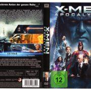 X-Men - Apocalypse (2016) R2 German DVD Cover