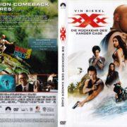 XXX - Die Rückkehr Des Xander Cage (2017) R2 German DVD Cover