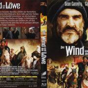 Der Wind und der Löwe (1975) R2 German Blu-Ray Covers & Label