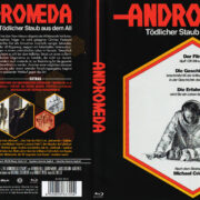 Andromeda - Tödlicher Staub aus dem All (1971) R2 German Blu-Ray Cover & label