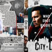 City of Lies (2018) R1 Custom DVD Cover
