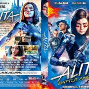 Alita: Battle Angel (2019) R1 Custom DVD Cover V2