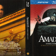 AMADEUS (2001) R1 DIGIBOOK BLU-RAY COVER & LABELS
