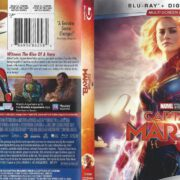 Captain Marvel (2019) R1 Blu-Ray Cover