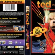 Ted vs Flash Gordon (1980-2015) R1 Custom Blu-ray Cover