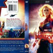 Captain Marvel (2019) R1 DVD Cover
