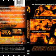 BLACK CAT RUN (1999) R1 DVD COVER & LABEL