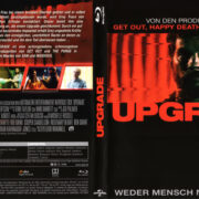 Upgrade (2019) R2 German Blu-Ray Cover & Label