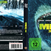 MEG 3D (2018) R2 German Blu-Ray Cover & Label