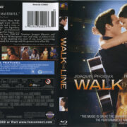 Walk The Line (2005) R1 Blu-Ray Cover & Label