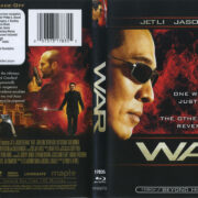 War (2007) R1 Blu-Ray Cover & Label