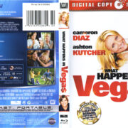 What Happens In Vegas (2008) R1 Blu-Ray Cover & Labels