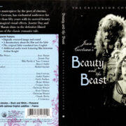 BEAUTY AND THE BEAST CRITERION COLLECTION (1998) R1 DVD COVER & LABEL