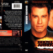 BROKEN ARROW (1998) R1 DVD COVER & LABEL