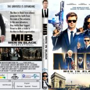 Men In Black: International (2019) R1 Custom DVD Cover