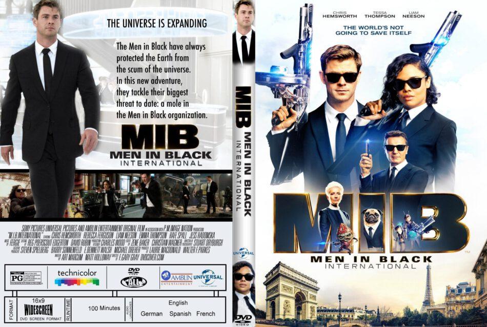 Men In Black International 2019 R1 Custom Dvd Cover Dvdcover Com