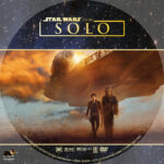 A Star Wars Story: Solo (2018) R1 Custom DVD label V3