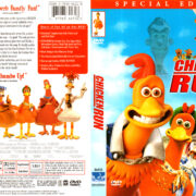 CHICKEN RUN (2000) R1 DVD COVER & LABEL
