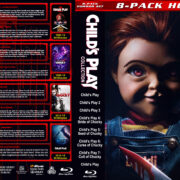 Child's Play Collection (8) R1 Custom Blu-Ray Cover