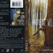 Where The Wild Things Are (2009) R1 Blu-Ray Cover & Labels